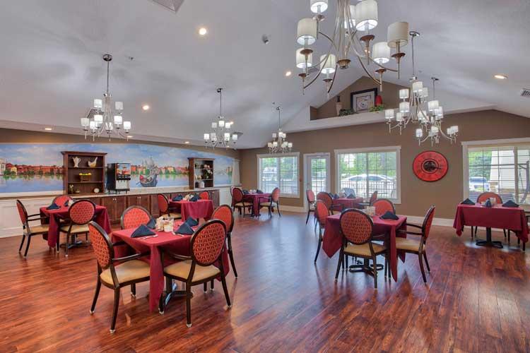 Charter Senior Living of Davison Gallery | Community Dining Room